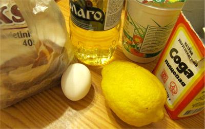 Быстрое тесто: ингридиенты
