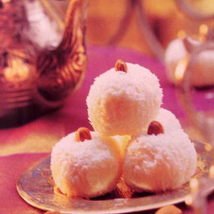 кокосовые шарики Индия