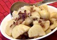 картофель в микроволновой печи