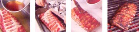 ребрышки барбекю