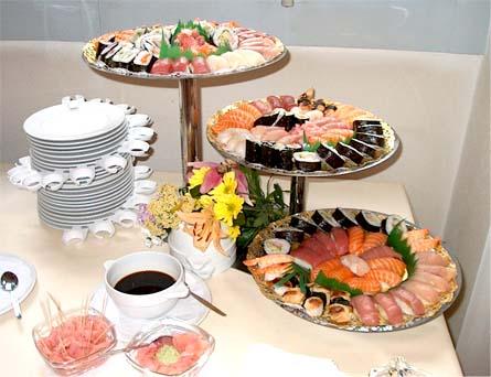 суши морское ассорти