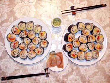 суши ролл по-мексикански