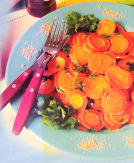 паровая морковь