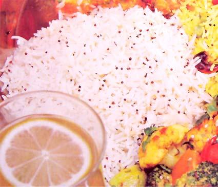 рис с горчицей Индия