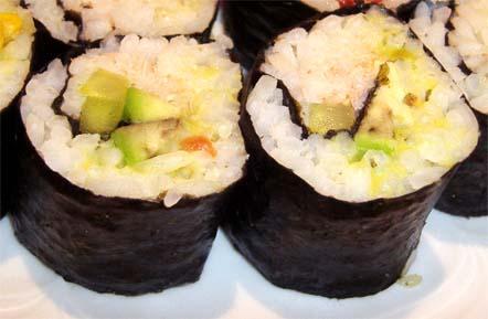суши с крабами классические