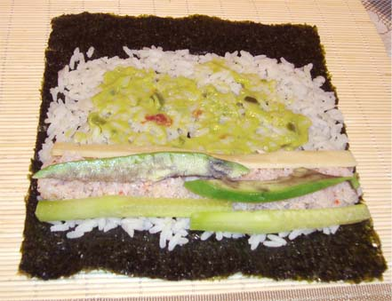 sushi kraby 2 Готовим суши салаты – суши с креветками
