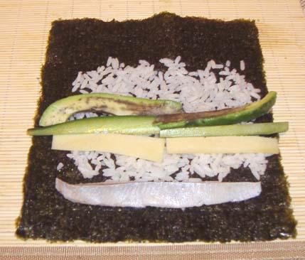 суши классические с селедкой