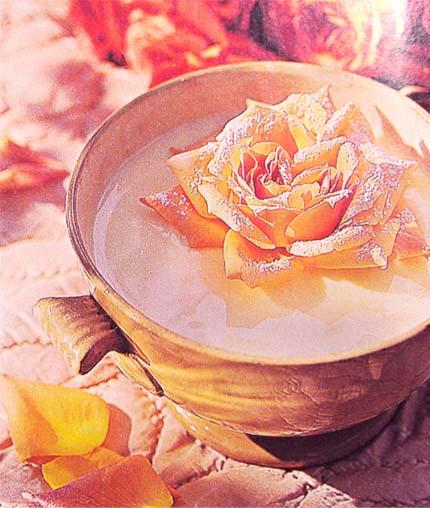 заварной крем из роз