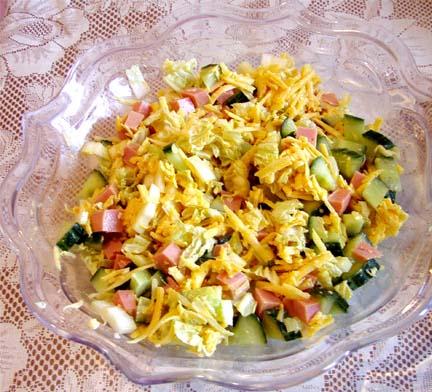 салат свежий