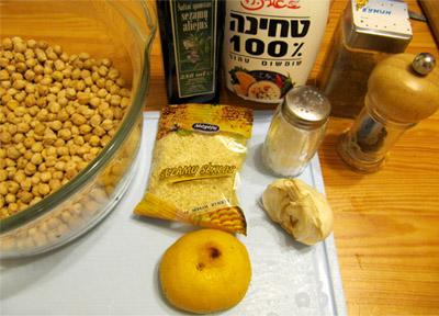 Хумус: ингредиенты