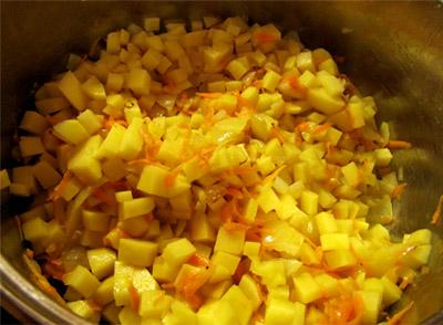 Картофельный суп: шаг 4