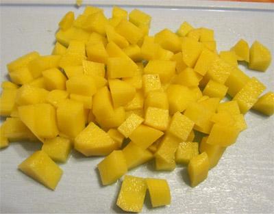 Картофельный суп: картофель