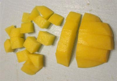 Нарезка кубиками: нарезать кубики