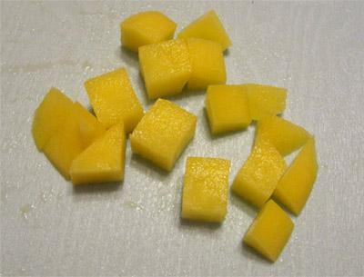 Нарезка кубиками: кубики