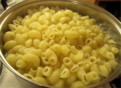 Запеканка из макарон с ветчиной: макароны