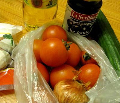 Греческий салат: ингридиенты